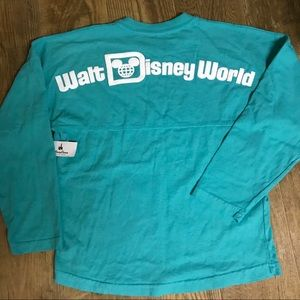 Disney World Girl's Spirit Jersey Top Size 12.